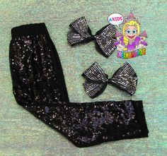 >> Click to Buy << girls Black sequin leggings,Black sequin sparkle pants,back to school toddler girl birthday clothes,glitter girls leggings #Affiliate