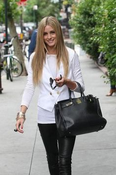 The bag, the black and white mix..love