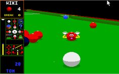 Jimmy White's Whirlwind Snooker (Commodore Amiga)