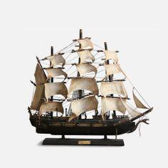 "Model Ship ""Bonhomme Richard"" 1765"