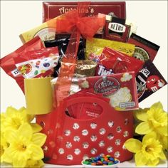 Hungry College Student Gift Basket, Gourmet & Artisan Foods :: Gift Boxes & Baskets :: Bullszi.com