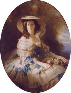 winterhalter eugenie | Empress Eugénie by studio of Franz Xaver Winterhalter (auctioned by ...