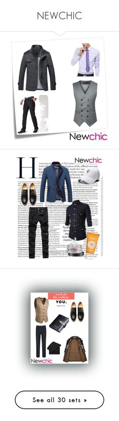 """NEWCHIC"" by kristina779 ❤ liked on Polyvore featuring polyvorefashion, Post-It, men's fashion, menswear, polylove, Stella & Dot, Gap, Folio, H&M and beauty"