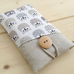 Iphone 7, Iphone Cases, Ipod, Diy Envelope, Cell Phone Pouch, Cute Owl, Sewing For Beginners, Cloth Bags, Textiles