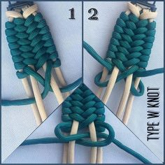 "270 Likes, 2 Comments - SFS (@ce.paracord.by.sfs) on Instagram: ""Official tutorial Type W Knot #paracord #hobby #edc #style #instagood #instastyle #instalike…"""
