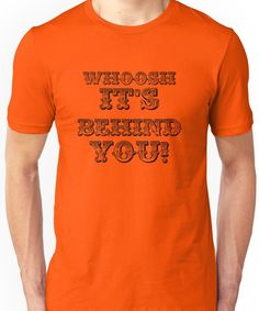 'Whoosh It's Behind You ( Sheffield Steelers )' T-Shirt by FoundOnFilm Sheffield Steelers, Ice Hockey, Tshirt Colors, Wardrobe Staples, Classic T Shirts, Unisex, Mens Tops, How To Wear, Hockey Puck