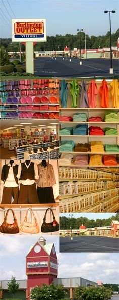Burlington Outlet Villiage located in North Carolina...great place to spend the day shopping with friends or family