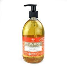 Savon d'Alep Liquide Parfumé Iskendar Karawan-Authentic Gel Douche Bio, Cleaning Supplies, Soap, Personal Care, Bottle, Aleppo Soap, Soaps, Cleanser, Self Care