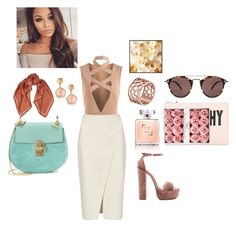 """""""nude love"""" by lenatsiati ❤ liked on Polyvore featuring Acne Studios, Sandro, Chloé, Steve Madden, Pottery Barn, Oliver Peoples, Givenchy, Pasquale Bruni and Tartesia"""