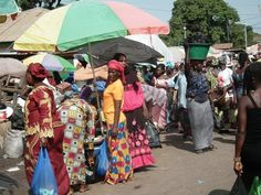 Marketplace, The Gambia