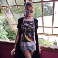 """3,756 curtidas, 17 comentários - Isabella Scherer (@isascherer) no Instagram: """"Afff Tô amando demais meu look hoje!! Regata, kimono e shortinho da @soumanaca ✨"""""""