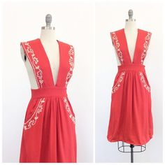 Cheshire Vintage (@cheshirevintage) • Instagram photos and videos 40s Fashion, Vintage Fashion, Coral, Ivory, Photo And Video, Cute, Red, Clothes, Link