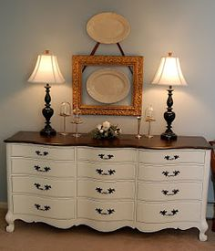 I love this - miss mustard seed painted furniture
