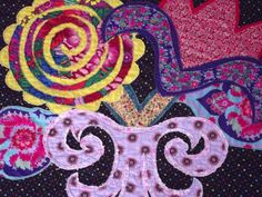 Modern Quilt Pattern  Lush Flowers by marylandquilter on Etsy, $7.95