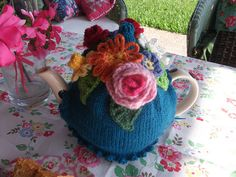 One of my all time favorites!  Tea cozy by vintagelady2010, via Flickr