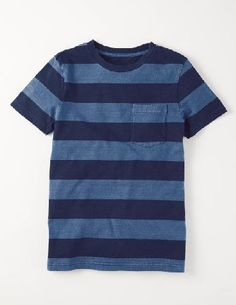 Mini Boden Indigo Stripe T-shirt Indigo Marl Stripe Boys This short-sleeved cotton T-shirt is great for everyday use, but is made to last (and last). We love the indigo dye that changes with every wash for an individual tee. Dont use that as an excuse to ge http://www.MightGet.com/january-2017-13/mini-boden-indigo-stripe-t-shirt-indigo-marl-stripe-boys.asp