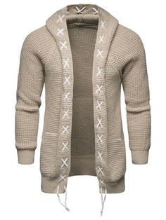 4db0bbaf4acaf7 Wool Blends Micro-Elastic Long Sleeve Men s Sweater Winter Cardigan