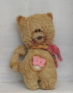 Quirky Cat by Woollybuttbears, AU$50.00
