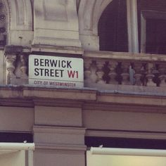 Berwick Street for fabric stores