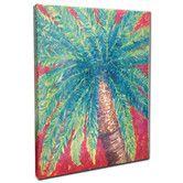 Found it at Wayfair - Palm Tree Mounted Giclee Wall Art 24 X 36