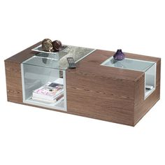You should see this Signature Home Coffee Table in Walnut on Daily Sales!
