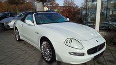 Maserati Spyder Cabrio im Louis Vuitton Style original. Sehr seltener originaler Umbau eines Maserati Spyder. Klicken Sie auf den Link um mehr über das Auto zu erfahren.   * Kraftstoffverbrauch und Emissionen: Maserati GranSport: Verbrauch: kombiniert: 17,5l/100 km; innerorts: 26,0 l/100 km; außerorts: 12,5 l/100 km; CO2-Emissionen (kombiniert): 400 g/km; Effizienzklasse: