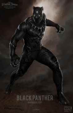 Il poster di Marvel Black Panther