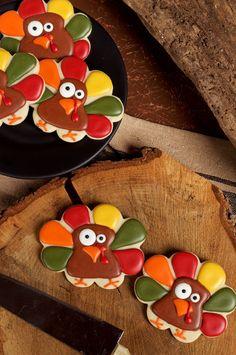 Super Simple Turkey Cookies