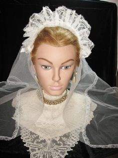 Lovely Vintage Bridal Veil @ Vintage Touch $17.50