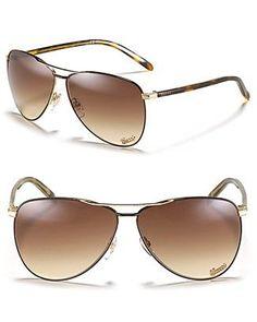 0291221df Óculos de Sol Feminino · Gucci Aviator Fade Sunglasses!