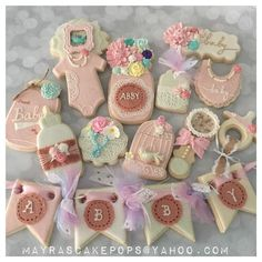 Shabby Chic Baby Shower | Cookie Connection
