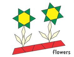 Patrick's Day Clover (color) or (b/w) Easter Basket (color) or (b/w) Chick & Bunny (color) or (b/w) Spring Flower 1 Flowers 2 Flowers (color) or (b/w) Flower (color) or (b/w) Spring Designs was last modified: January 2018 by Jessica Math Patterns, Geometric Patterns, Flower Patterns, Pattern Block Templates, Pattern Blocks, Spring Activities, Preschool Activities, Spring Theme, Spring Design