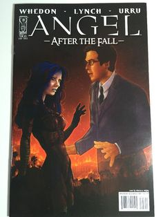 Angel After The Fall IDW 2007 #5 B Comic Book VF-NM Whedon Lynch Urru