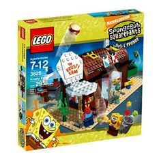 Krusty Krab Nickelodeon Spongebob Square Pants LEGO® Set 3825