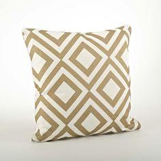 Found it at Wayfair - Olympia Printed Diamond Cotton Throw Pillow