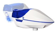 Virtue Spire Paintball Loader - White / Blue by Virtue. $194.95. Virtue Spire Paintball Loader - White / Blue  The Virtue Spire NOW IN COLOR is the next generation in loader technology with a shot activated sensor, jam-proof feeding system and a tool-less design that can be taken apart and reassembled in seconds. Not only is the Spire an aggressive, lightweight, and compact design, but it also holds more paint than the leading competitors. Advantages:  Lowest Pro...