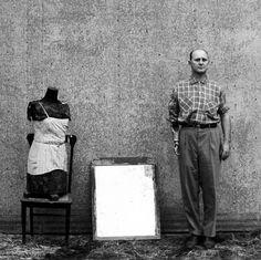 Ralph Eugene Meatyard - Cranston Richie - 1964/1974 - (Center for Photographic Studies, Portfolio 3) - From a portfolio of ten gelatin silver prints from original Meatyard negatives (1959-71), Printed April 1974
