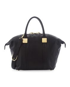 Morrison Medium Tote Bag, Black by Rachel Zoe at Last Call by Neiman Marcus.