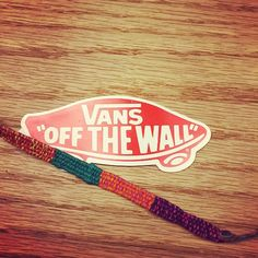 "#Vans totally ""OFF THE WALL."" Our Tuesday combo = #myAdorance bracelet + Vans kicks + skateboard. Grabbing #friends and hitting the road! Enjoy your Tuesday."
