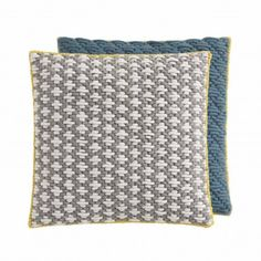 SILAÏ CUSHION LIGHT GREY-BLUE