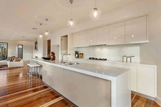 Open concept modern kitchen