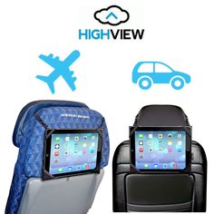 The HighView iPad hanger lets you hang your iPad for comfy viewing when traveling- each one gives clean water to kids in need! Use it in the car or airplane when traveling
