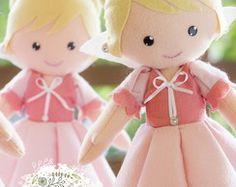 Kit 4 princesas cor de rosa