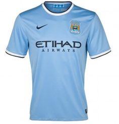 14045c6faa2 Manchester City 13 14 Home Soccer Jersey Soccer Shirts Nike Blue Soccer  Tips