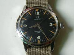 Omega Seamaster 30 Winding Watch in vintage watches Omega Railmaster, Omega Planet Ocean, Seamaster 300, Moon Watch, Speedmaster Professional, Cool Gear, Vintage Omega, Omega Speedmaster, Vintage Beauty
