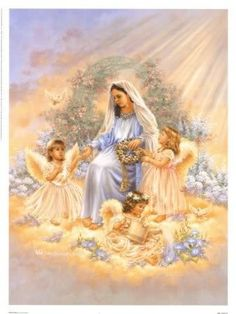 Barb  uploaded this image to 'Blessed Virgin Mary/Mary and the Angels'.  See the album on Photobucket.
