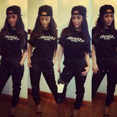 #TBThursday with @chelseehealey looking gorgeous as usual in a #CaviarCartel tee from us www.houseoftreli.com