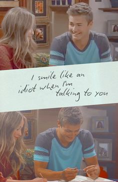 """reashellove22: """"I smile like an idiot when i'm talking to you """""""
