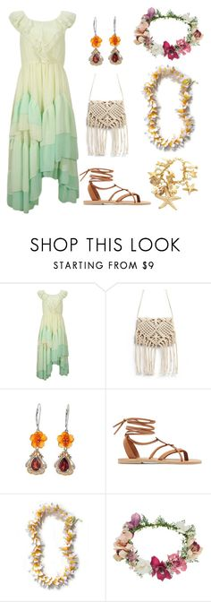 """Untitled #148"" by remedypotter ❤ liked on Polyvore featuring Valia Gabriel and Topshop"