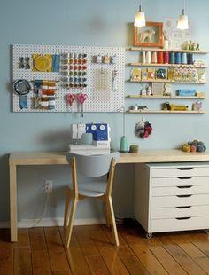 Craft room organization by riczkho